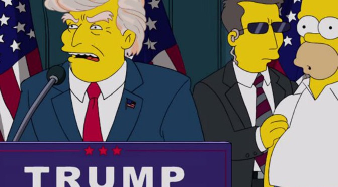 Donald Trump to Guest Star on The Simpsons? [MAJOR SPOILERS]