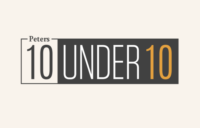 Peters' Ten Under Ten 2017
