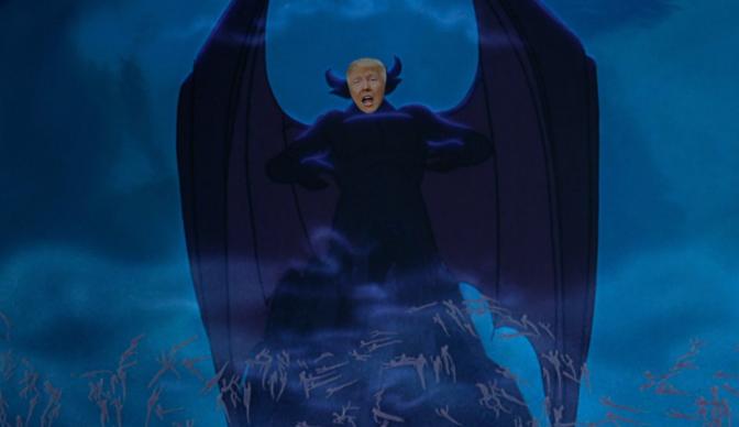 I Photoshopped Donald Trump onto a Bunch of Disney Bad Guys
