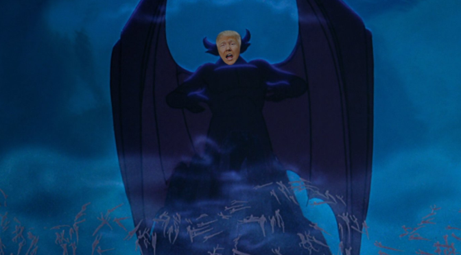 I Photoshopped Donald Trump onto a Bunch of Disney Bad Guys