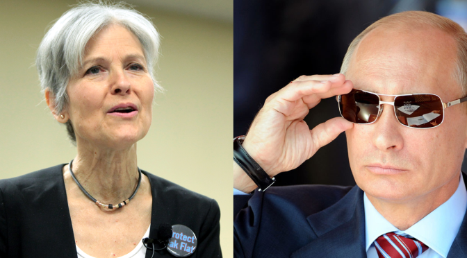 RUSSIAGATE BOMBSHELL: EXCLUSIVE LEAKED EMAILS REVEAL SECRET RELATIONSHIP BETWEEN PUTIN AND GREEN PARTY CANDIDATE JILL STEIN